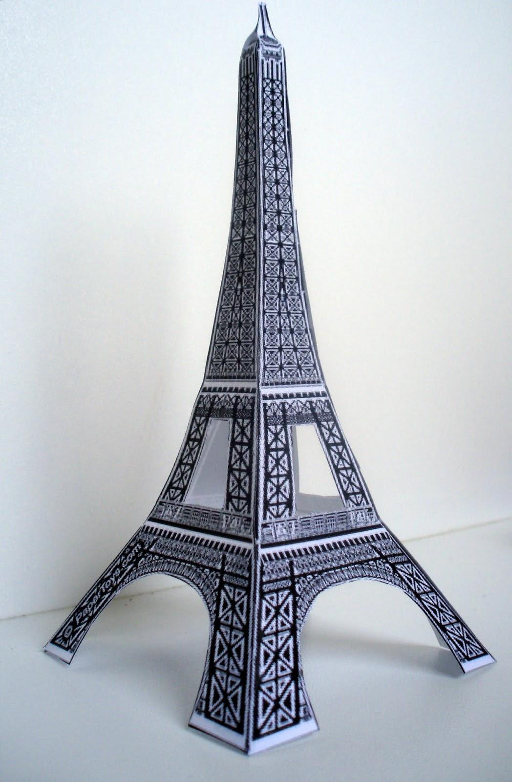 Paper Craft New 255 Paper Craft Eiffel Tower