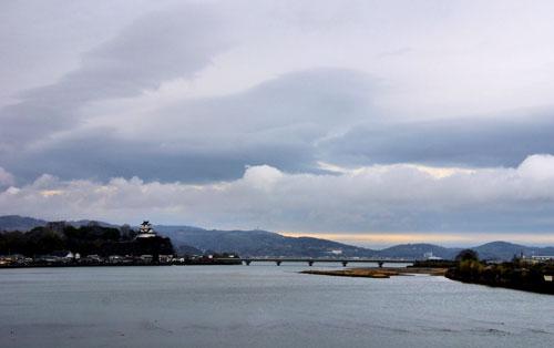 View of Kitsuki Castle, Kunisaki, Kyushu
