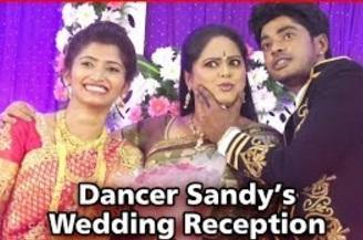 Choreographer Sandy Marriage Photos | Sandy Master Weds Sylvia – Wedding Stills | Celebrity Marriage