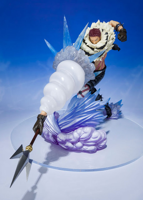 """Figuarts ZERO Chou Gekisen -Extra Battle- Charlotte Katakuri Mochi Tsuki de """"One Piece"""" - Tamashii Nations"""