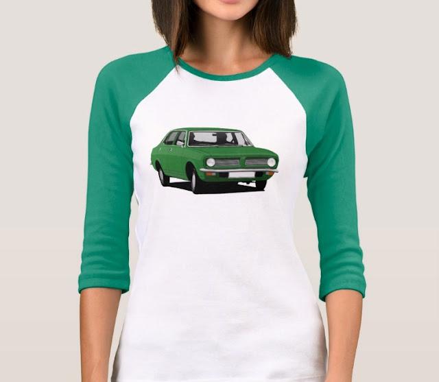 Vintage Morris Marina car shirts