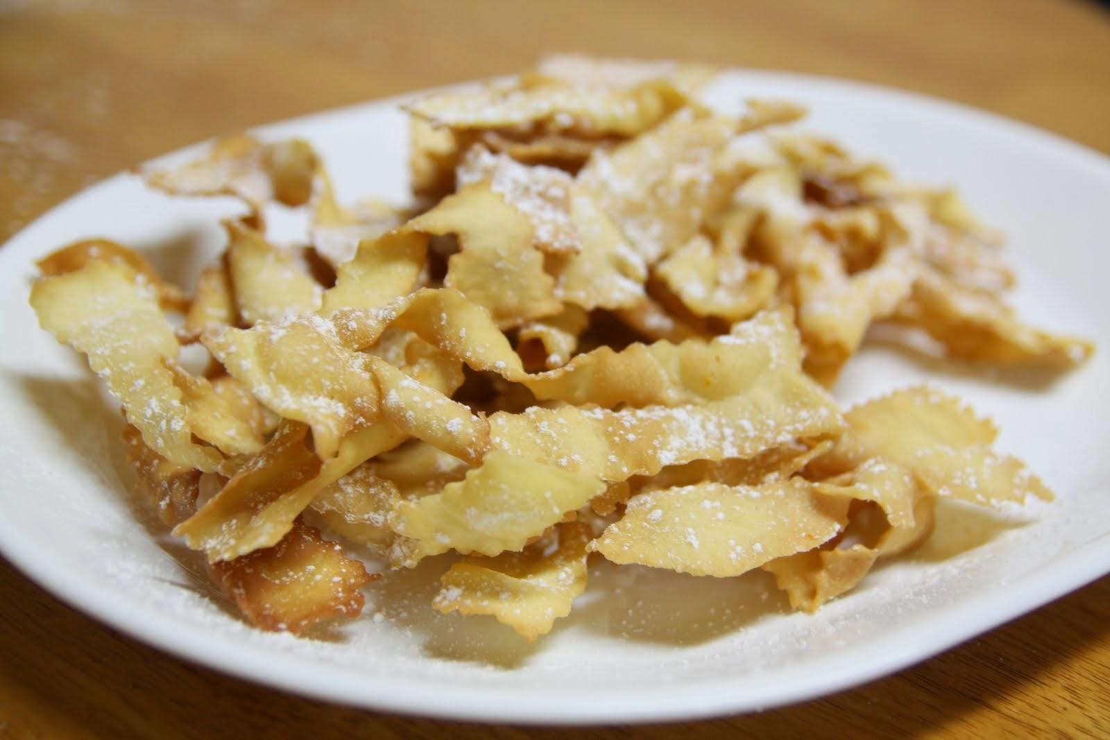 Crostoli Recipe Italian Food Safari