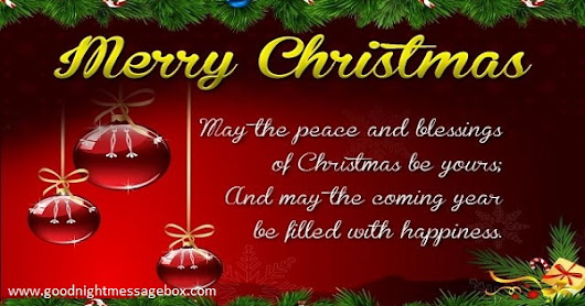 Merry Christmas Whatsapp Status | Merry Christmas Whatsapp Messages And Wishes