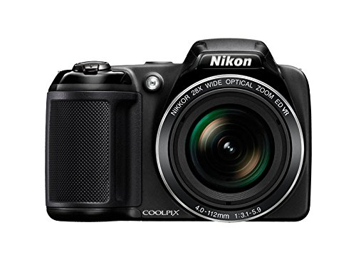 Nikon Coolpix L340 20.2MP Point And Shoot Digital Camera front view