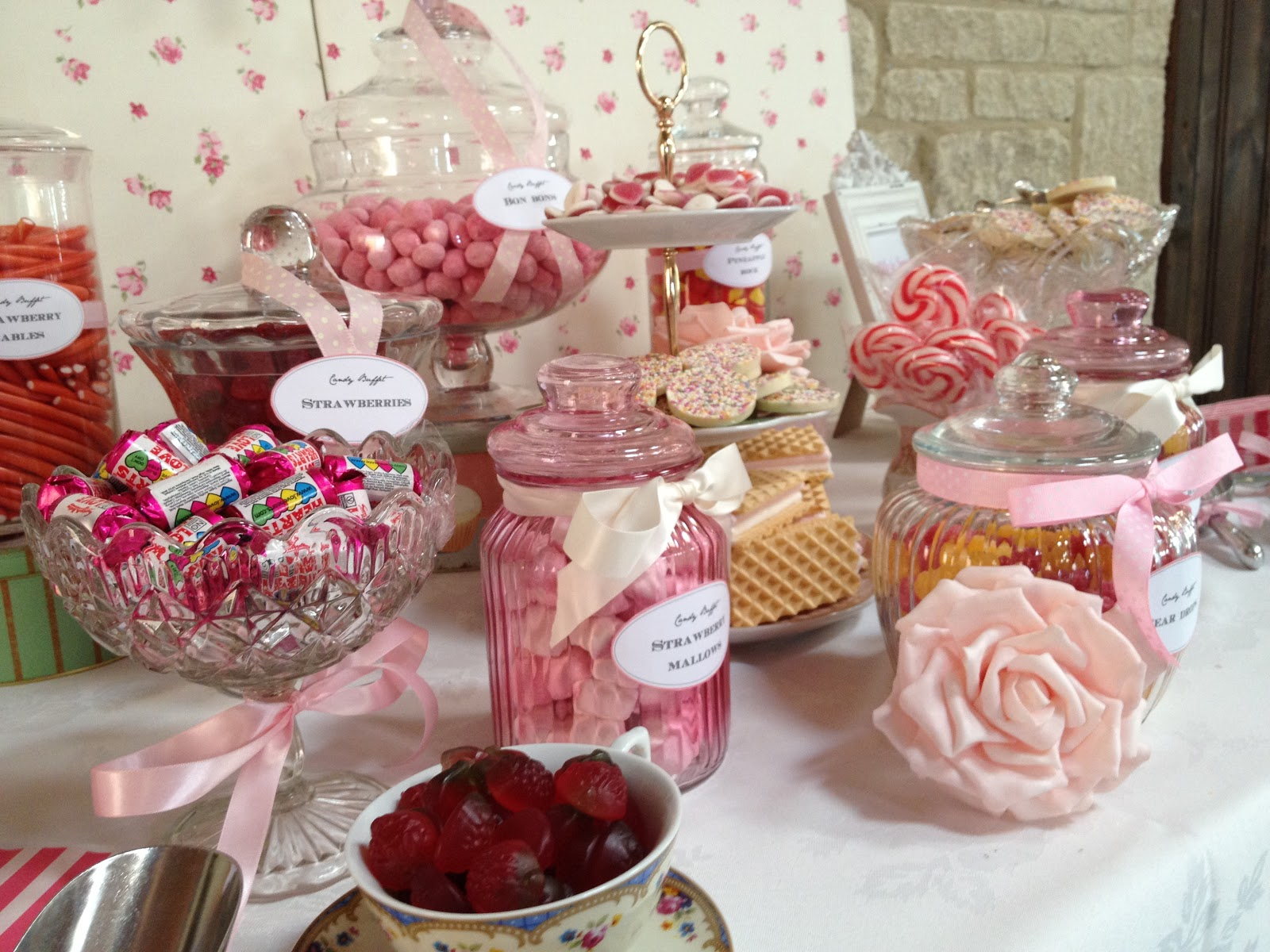 Wedding Sweet Table Ideas: Bristol Vintage Wedding Fair: Sweet & Pretty Weddings And