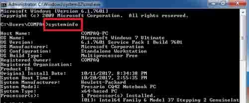 Cara Mudah Mengetahui Merk dan Tipe Laptop Melalui Command Prompt
