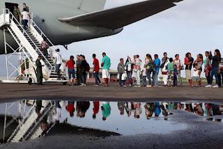 Venezuelanos refugiados chegam à Paraíba nesta quarta-feira