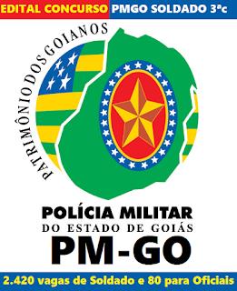 Edital Concurso Público PMGO 2016