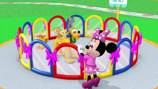 MINNIE: Everything's under control for your show