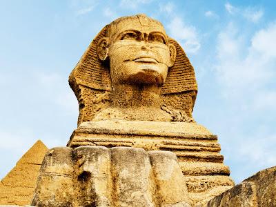 Resultado de imagen de rostro de la Gran Esfinge