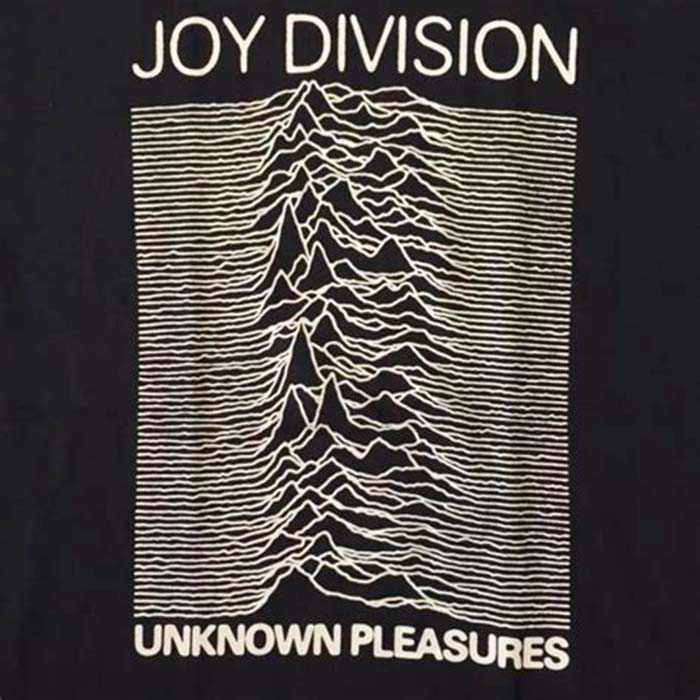 Unknown Pleasures LP. Joy Division 1979