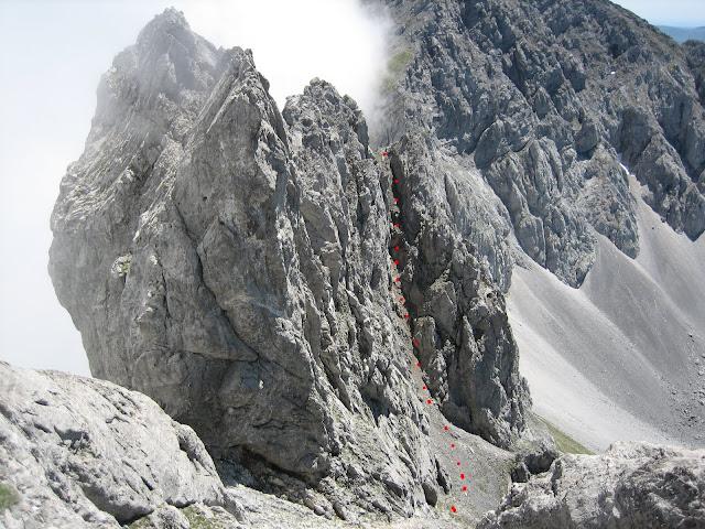 Rutas Montaña Asturias: Canal entre el Segundo Castillín y Siete