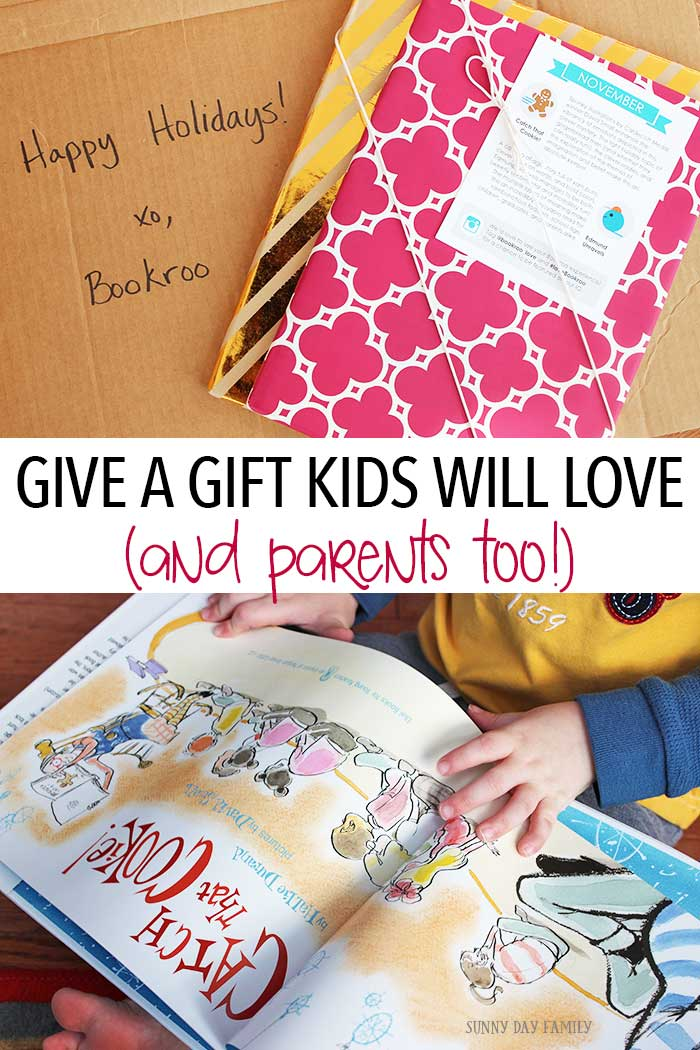 A kid's book subscription from Bookroo makes the perfect gift! Kids and parents will love the unique and fun choices every month. See what's inside our Bookroo box and get a special deal too!