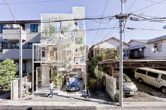 Transparent House in Japan picture