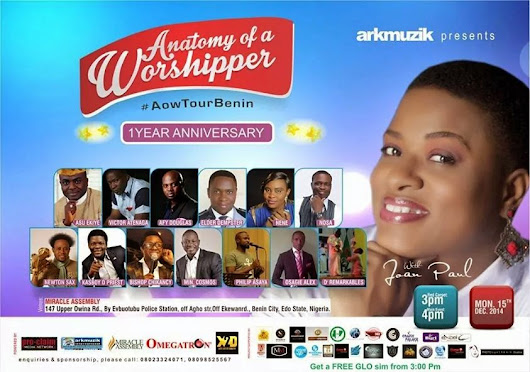 Anatomy of Worship with Ark Music to storm Benin City