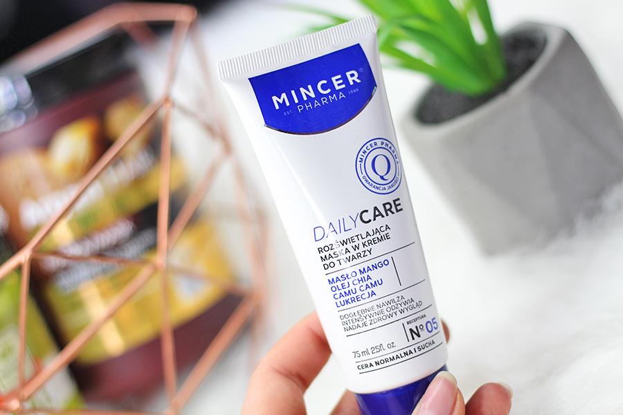 Mincer Pharma | Rozświetlająca maska w kremie do twarzy