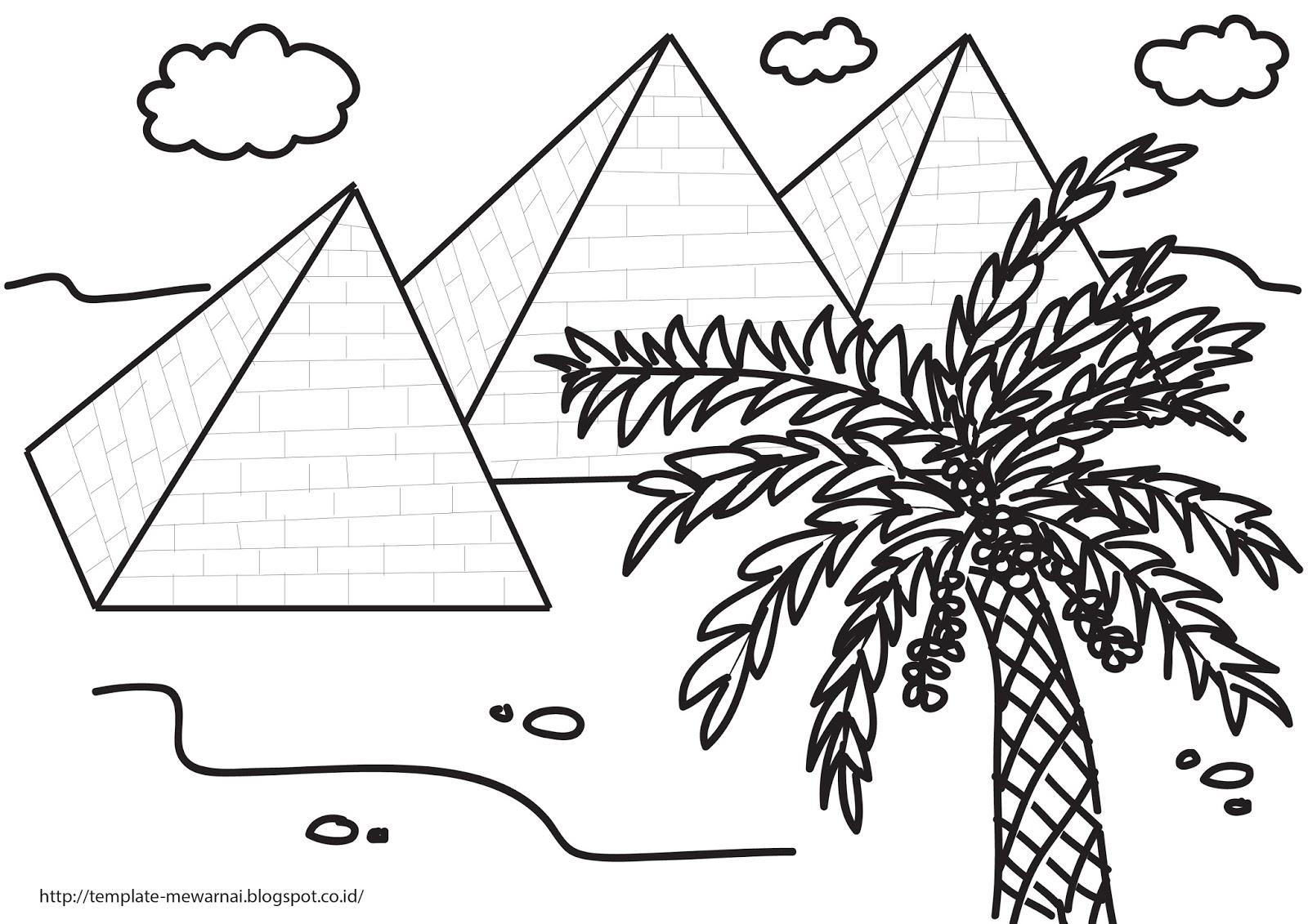 Kumpulan Gambar Sketsa Pohon Kurma Sketsa Gambar
