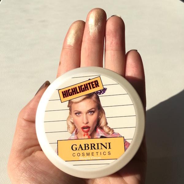 gabrini cosmetics highlighter 02 highlighter 03 incelemesi 5