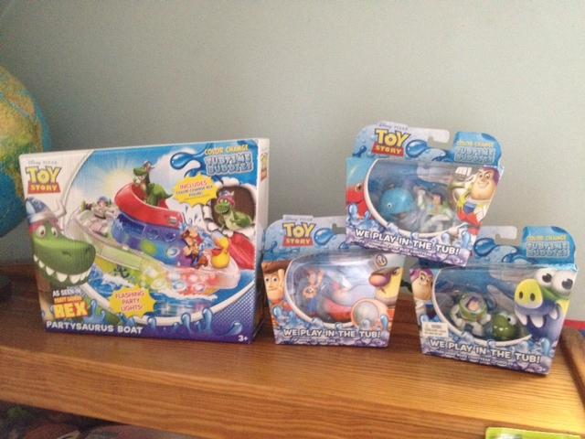 toy story partysaurus rex tubtime buddies