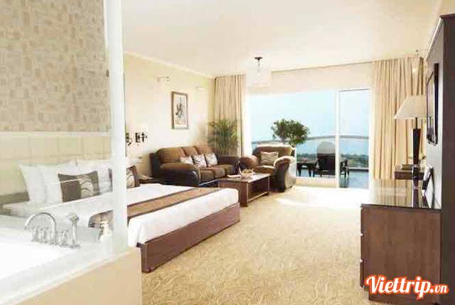Phòng nghỉ của Sealink villa