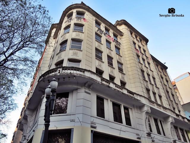 Fachada do Edifício Barão De Itapetininga - Republica - São Paulo