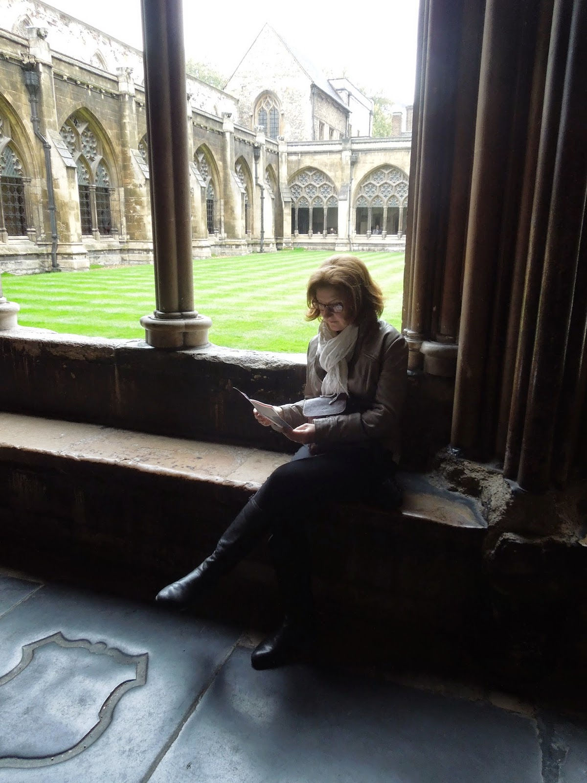 Jenny in the Cloisters