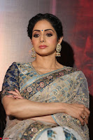 Sri Devi in designer saree stunning beauty at the launch of MOM movie Trailer~  Exclusive 060.JPG