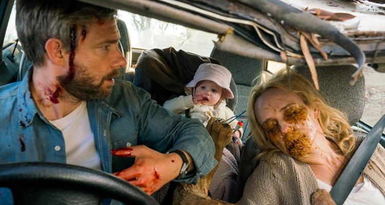"""Escena de """"Cargo"""", la película de Netflix"""