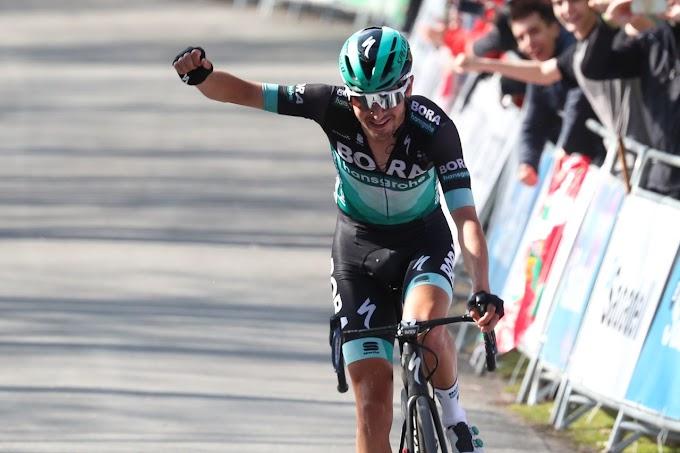 Buchmann, fue el ganador en Arrate y es el nuevo líder de la Itzulia