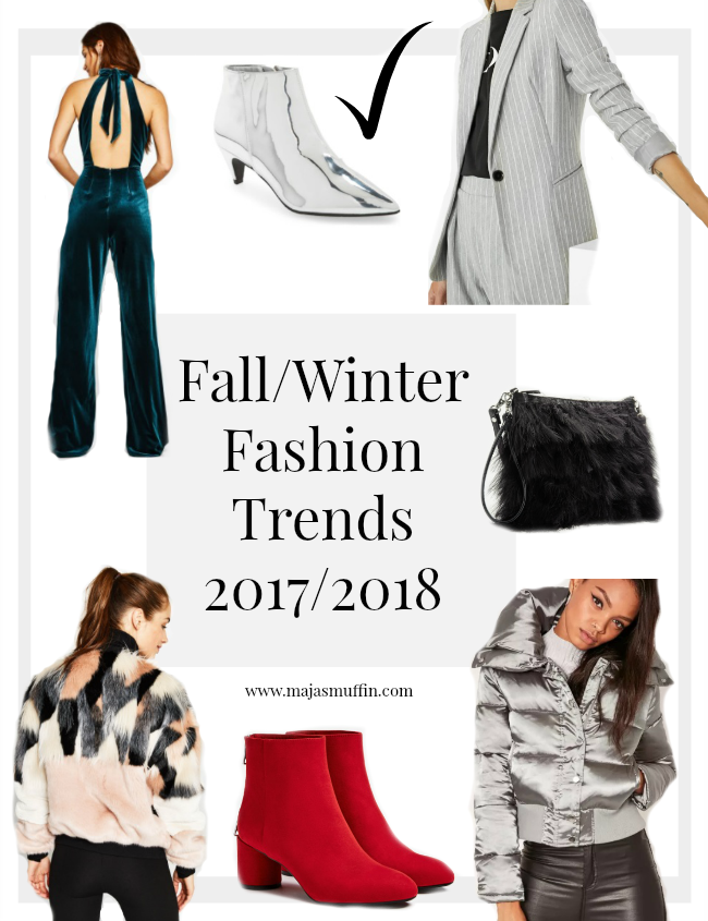 10 Fall Winter Fashion Trends For 2017 2018 Maja 39 S Muffin