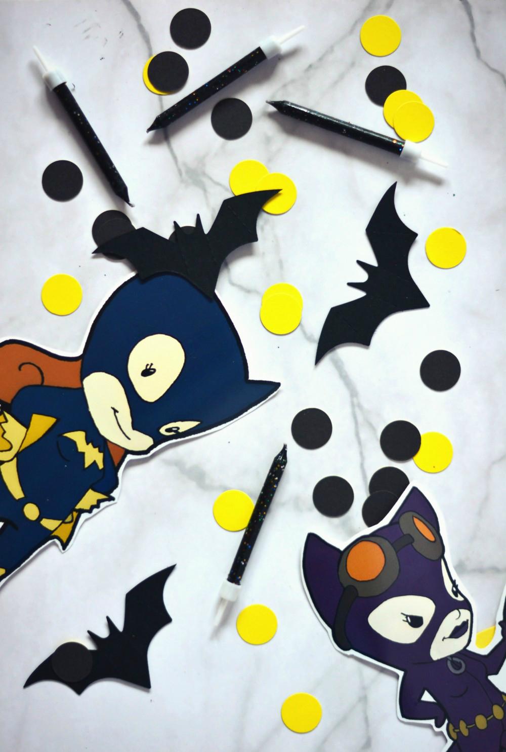 przyjęcie urodzinowe w stylu Batmana