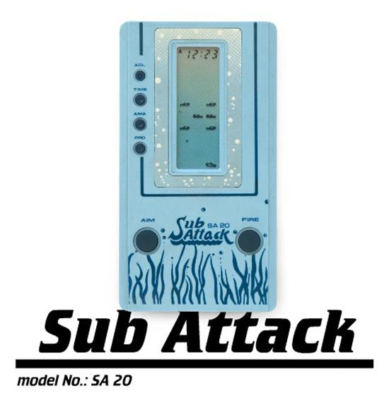 Sub Attack Game