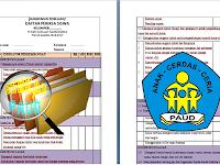 Download Berkas Rangkuman Penilaian/Daftar Periksa Anak PAUD/TK/KB/SPS