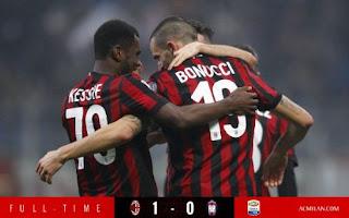 AC Milan Menang Tipis Atas Crotone