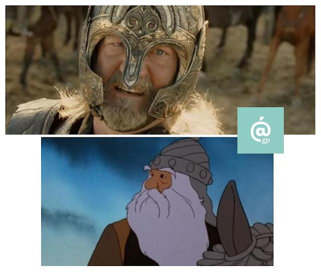 Rey Theoden - El Señor de los Anillos: Peter Jackson Vs Ralph Bakshi - JRRTolkien - ÁlvaroGP - el fancine - el troblogdita