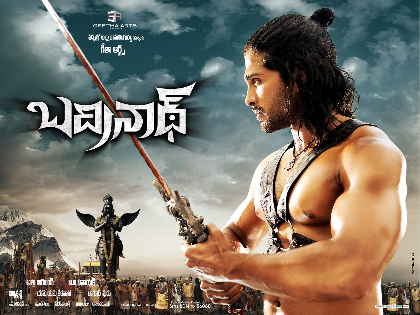 Shiva Trilogy Wallpapers Hd Rocking Hd Posters Of Badrinath With Out Water Marks
