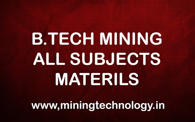 B.TECH ALL SUBJECTS MATERIAL