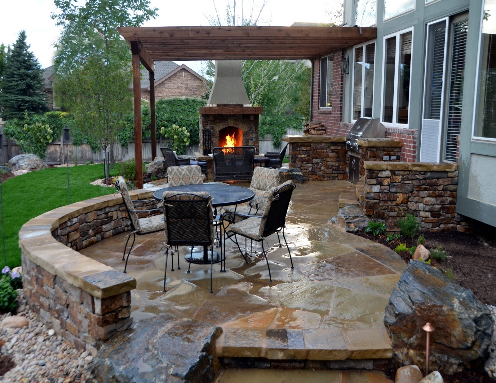 Maximize Comfort on Backyard Patio Ideas, Patio Ideas on a ... on Townhouse Patio Design Ideas id=64379