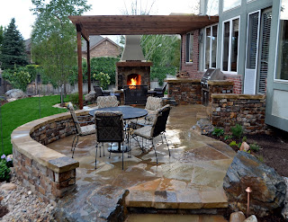 small townhouse patio ideas