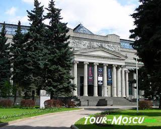 Pushkin tour en Moscu
