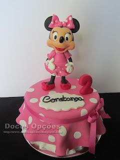 A Minnie no 2º aniversário da Constança