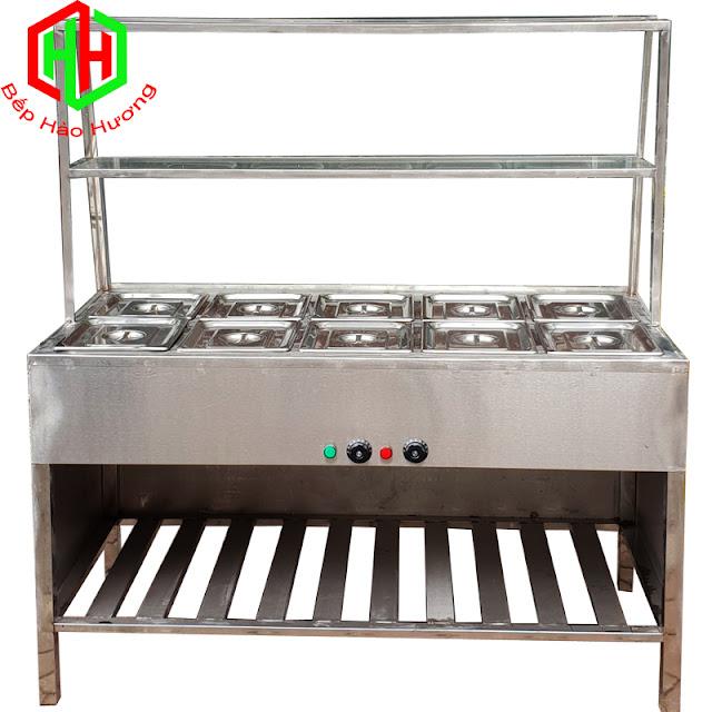 Tủ hâm nóng thức ăn 4 đến 10 khay Hào Hương