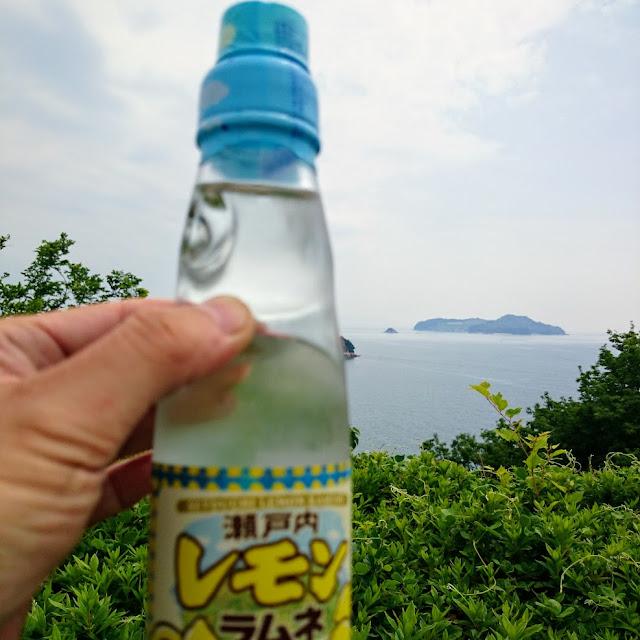 とびしま海道 上蒲刈島 蒲刈大橋 であいの館 瀬戸内レモンラムネ