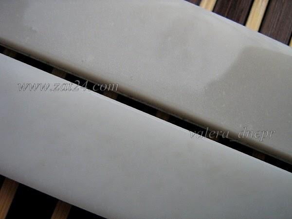 Hard Translucent Arkansas от Norton - доводочный природный камень для заточки ножей
