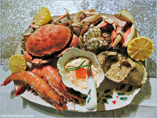 Mariscada Cena de Noche Vieja