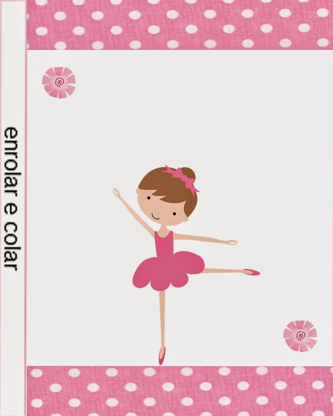 Pretty Ballerina Free Printable Candy Bar Labels