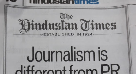 Open Letter to the Editor-in-Chief, Hindustan Times