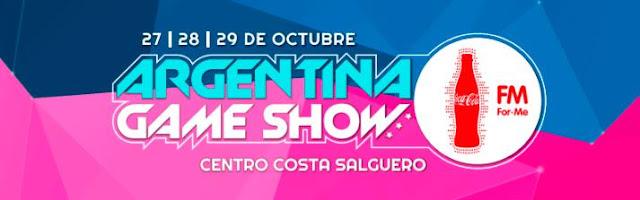 Argentina Game Show Coca-Cola For Me la feria de videojuegos y tecnología más grande del país se prepara para su 3° edición