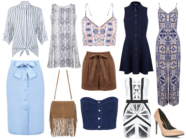 Wishlisting | Blue & White @ Miss Selfridge