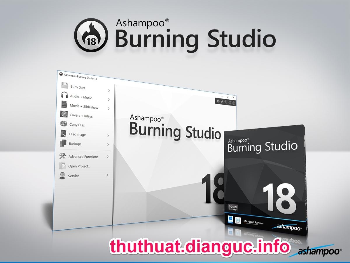 Download Ashampoo Burning Studio 18 Full Crack – Phần mềm ghi đĩa chuyên nghiệp